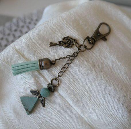 Kulcstartó #Kabala# Ásványos
