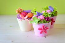 Illatosító kiskaspó rózsaszín