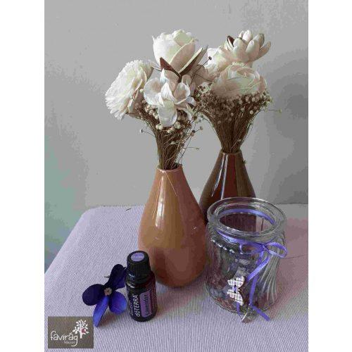 Porcelán váza 18 cm