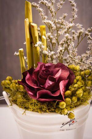 Rózsás Sandra Rich porcelánvödör