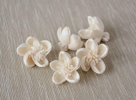 Kis virág fejek, 5 db